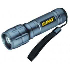 BLINKY EUROPEAN SMALL LED TORCH 1 LED 3 WATT 120 LUMENS 100 mt.