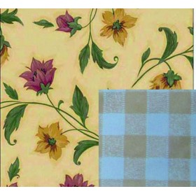 BLINKY DOUBLE-FACE FIORI-LIBERTY TABLECLOTH MT. 1.4X30