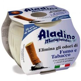 ALADINO CANDLE IN SMOKE AND TOBACCO SMOKE EATING GLASS