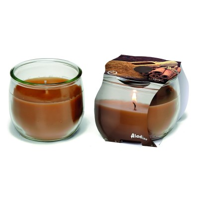 ALADINO SCENTED CANDLE ENVIRONMENT 30H CINNAMON FRAGRANCE 120