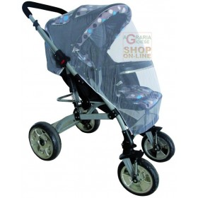 BLINKY MOSQUITO NET FOR STROLLER MT. 1.2 X 1.4