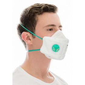 BLS FOLDING PROTECTIVE MASK FFP2 WITH BLS 829 VALVE
