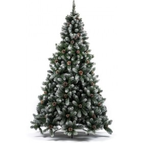 MARILLEVA CHRISTMAS TREE WITH SNOW TIPS 690TIPS CM. 180