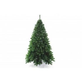 CHRISTMAS TREE MONTEZUMA DARK 627TIPS METAL BASE CM. 180