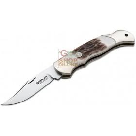 BOKER KNIFE BOY SCOUT HIRSCHHORN MOD. BO 112403