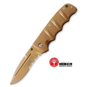 BOKER KALASNIKOV KNIFE MAGNUM AK-74 LINERLOCK DESERT
