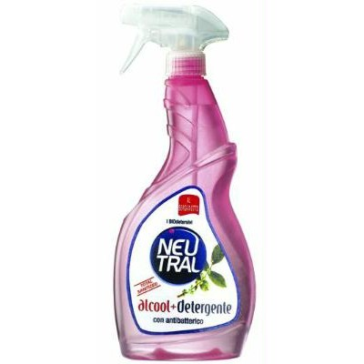ALCOHOL WITH ANTIBACTERIAL DETERGENT ML. 750