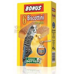 BONUS BISCOTTINI PER UCCELLINI CON MIELE PZ. 6