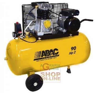 ABAC COMPRESSOR COMPRESSED AIR 220V B26-90 CM2 HP. 2 LT. 90