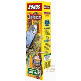 BONUS STICK GHIOTTONCINO FOR PARROTS WITH HONEY PCS. 2