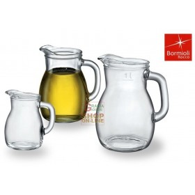 BORMIOLI BISTROT CARAFE IN GLASS FOR WINE AND WATER ML. 1000
