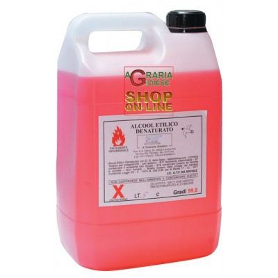DENATURED ETHYL ALCOHOL 99.9 LT. 5
