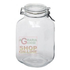 BORMIOLI FIDO GLASS JAR WITH AIRTIGHT CAP CL. 300