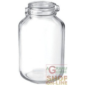 BORMIOLI FIDO GLASS JAR WITH AIRTIGHT CAP CL. 400
