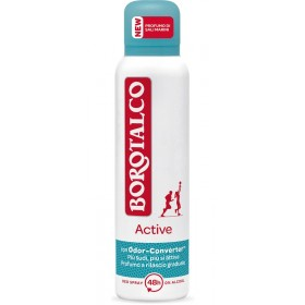 BOROTALCO DEODORANT SPRAY ACTIVE SCENT OF SEA SALTS WITH ODOR