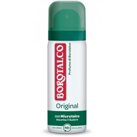 BOROTALCO DEODORANTE SPRAY ORIGINAL 50 ML MINI SIZE