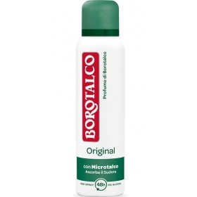 BOROTALCO DEODORANTE SPRAY ORIGINAL CON MICROTALCO 150 ML
