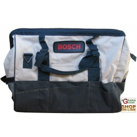 BOSCH CANVAS BAG SHOULDER BAG IN FABRIC WITH ZIPPER