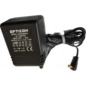 OPTICON A50200N0020 AC ADAPTER 9V 0.5A 230V ORIGINAL