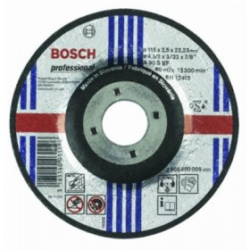 BOSCH ABRASIVE WHEELS CUTTING IRON 115X2,5X22