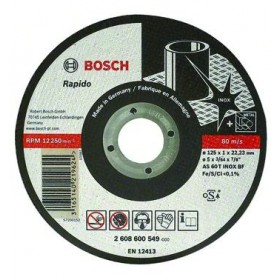 BOSCH WHEELS ABRASIVE WHEELS STEEL-STAINLESS STEEL 115X1X22