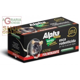ALPHAMAYER READY-TO-USE RODENTICIDE LURE PASTE FOR SMALL MICE GR. 10 PCS. 2