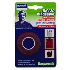 BOSTON TRANSPARENT DOUBLE-SIDED TAPE MT. 1,5 H. 19 MM.
