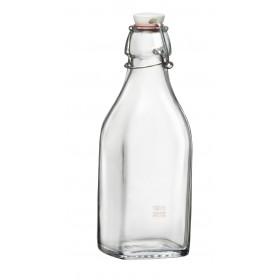 Bormioli Rocco Swing bottle mechanical cap in glass water ml. 125