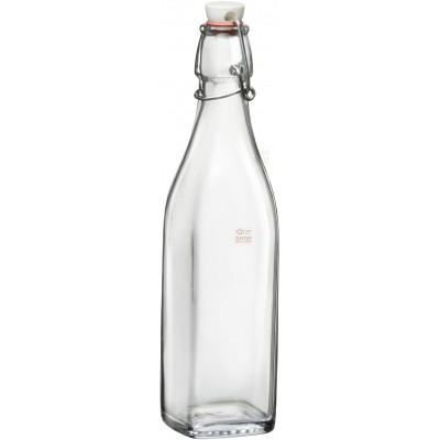 Bormioli Rocco Swing bottle mechanical cap in glass water ml. 500