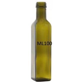 OIL BOTTLE MOD. MARASCA LT. 0,100 MOUTH MM. 31.5