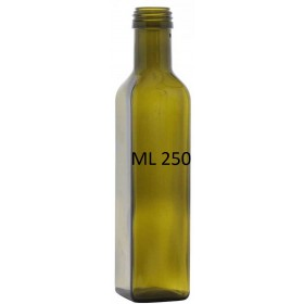 BOTTIGLIA PER OLIO MOD. MARASCA LT. 0,250 IMBOCCATURA MM. 31,5