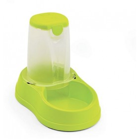 BREAK RESERVE DISTRIBUTOR OF FOOD FOR DOGS AND CATS LT. 1,5 LIME GREEN