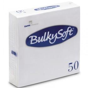 BULKYSOFT CARMA NAPKINS 33x33 2 PLY 50 PIECES