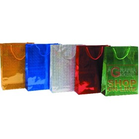 ASSORTED LASER CHRISTMAS GIFT ENVELOPES 30X40 CM