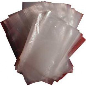ENVELOPES EMBOSSED VACUUM BAGS CM.10X40 IN PACKAGING OF 100 PCS.