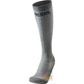 LONG TECHNICAL SOCKS COMPOSED IN MERINO WOOL ACRYLIC POLYAMIDE