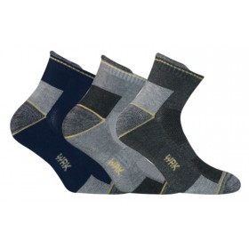 VERY SHORT WORK SOCKS TG. 43/46 PCS. 3