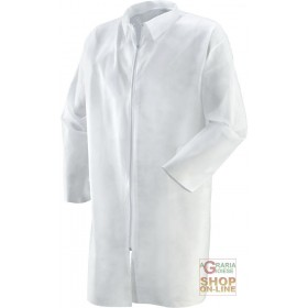 COATS WITH ZIPPER IN PLP GR 40 WHITE COLOR TG M XXL