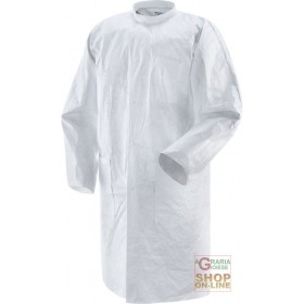 TYVEK PRACTIK CE COATS 1 COLOR WHITE TG M XXL