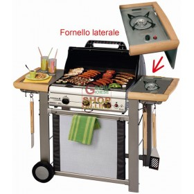 CAMPINGAZ GAS BARBECUE ADELAIDE 3L DLX 14 KW WITH STOVE 203658