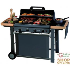 CAMPINGAZ GAS BARBECUE ADELAIDE 4 CLASSIC KW. 21 WITH STOVE