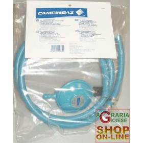 CAMPINGAZ HOSE REGULATOR KIT FOR GAS BARBECUE CLAMPS