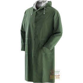 GREEN BISPALMED PVC COAT TG SML XL XXL XXXL