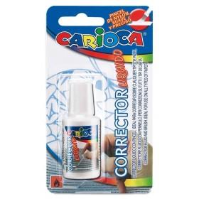 CARIOCA CORRECTOR CORRETTORE LIQUIDO CON PENNELLO ml. 13