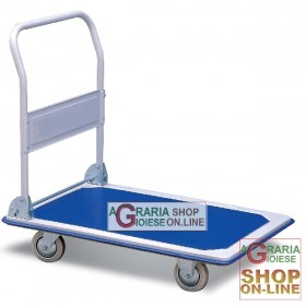 TROLLEY WITH FOUR WHEELS CM. 92x62x6 LARGE CAPACITY KG. 150