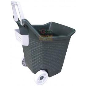 Multipurpose trolley for garden Bama Kart moss 76 lt. also