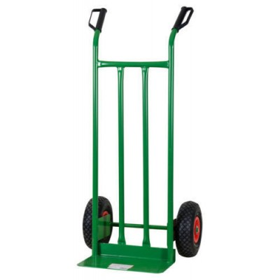 CRATE HOLDER TROLLEY WITH TWO PNEUMATIC WHEELS KG. 200