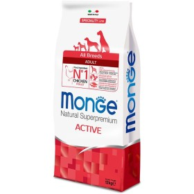 MONGE MANGIME PER CANI CROCCHETTE ALL BREEDS ADULT ACTIVE CON