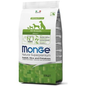 MONGE FEED FOR DOGS CROQUETTES ALL BREEDS ADULT WITH RABBIT