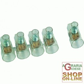 TERMINALS FOR ELECTRIC CABLES MM. 2.5 PCS. 10